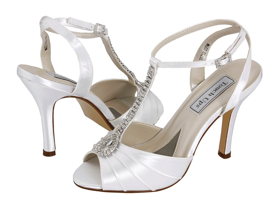 Touch Ups - Izzie (White) Women's Bridal Shoes