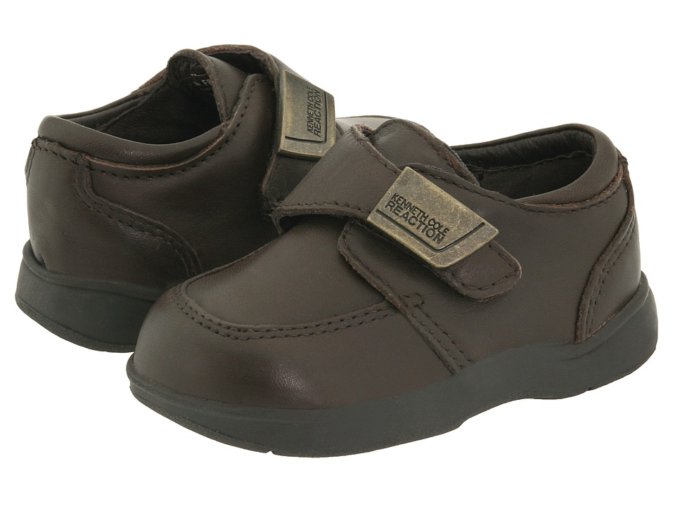 Kenneth Cole Reaction Kids Tiny Flex Boys Shoes (Brown)