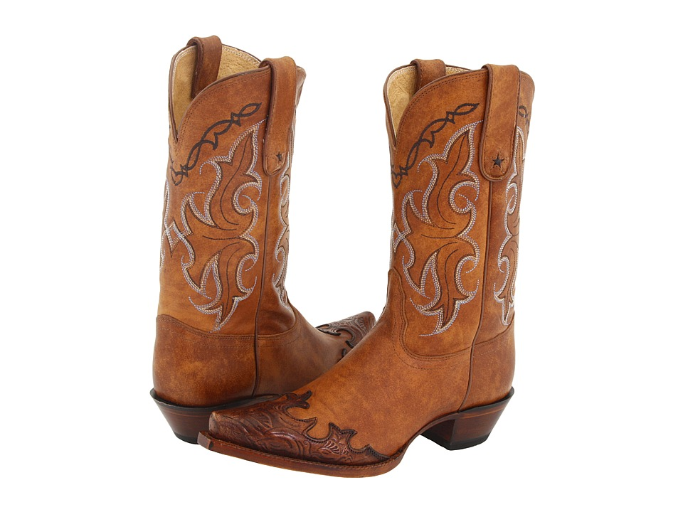 Tony Lama - Vaquera Collection II (Tan Santa Fe) Cowboy Boots