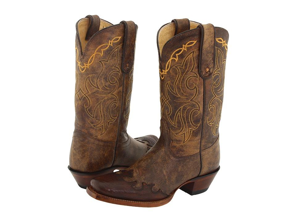 Tony Lama - Bark Santa Fe (Bark Santa Fe) Cowboy Boots