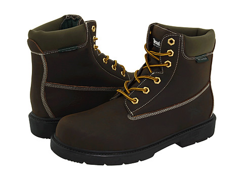Deer Stags - Tractor (Crazy Dark Brown) Men's Lace-up Boots