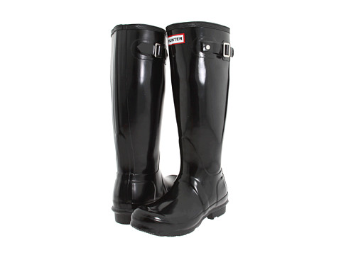 Hunter - Original Gloss (Black) Women's Rain Boots