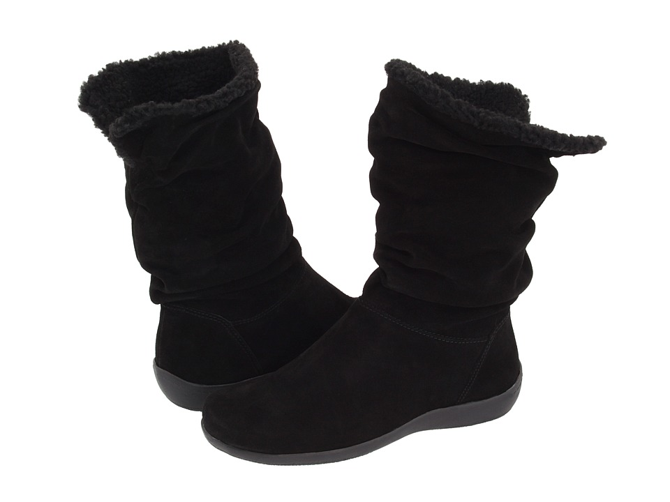 Easy Spirit - Stargazer (Black Suede) Women's Pull-on Boots