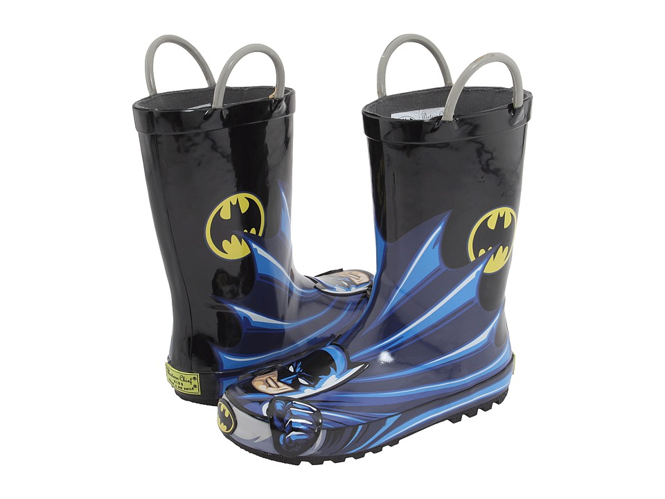 Western Chief Kids - Batman Character Rainboot (Toddler) (Batman) Boys Shoes