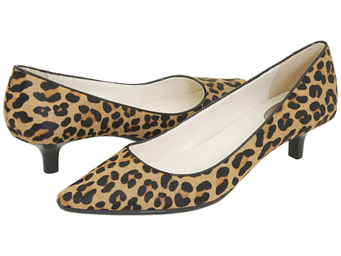 Calvin Klein - Diema (Leopard Pony Hair) Women's 1-2 inch heel Shoes
