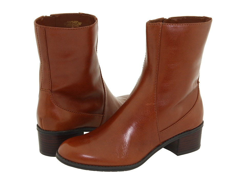 Bandolino Carlessa (Cognac Leather) Women