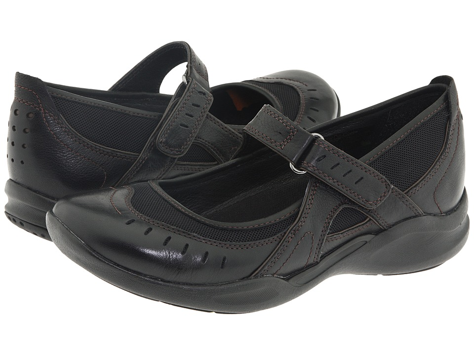 Clarks - Wave.Cruise (Black Leather) Women