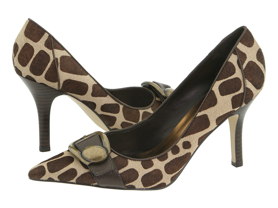 Nine West - Bitterend (Natural/Dark Brown) High Heels