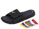 Nike Kids Custom Comfort Slide 2 (Little Kid/Big Kid) (Black/Varsity Red/Anthracite)