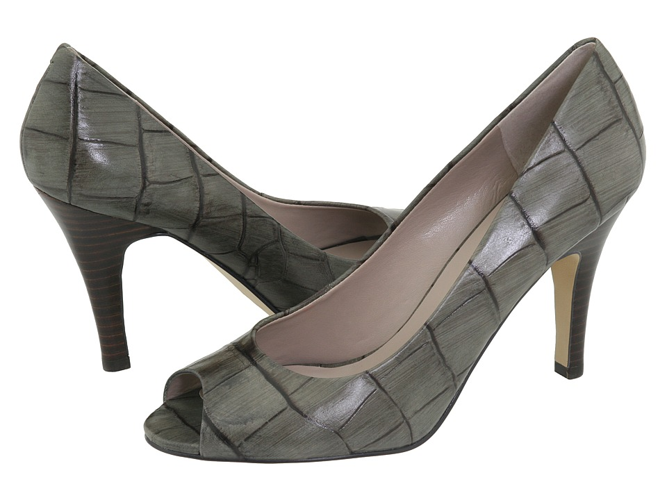 Nine West - Skylark (Dark Green Croc) High Heels