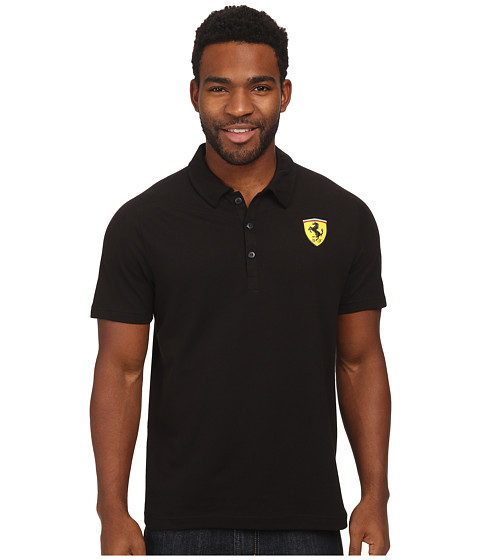 PUMA - SF Graphic Polo (Black) Men