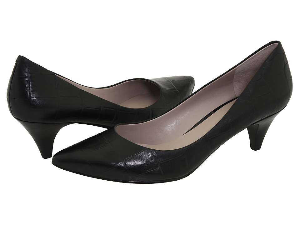 Nine West - Day (Black Croc) High Heels