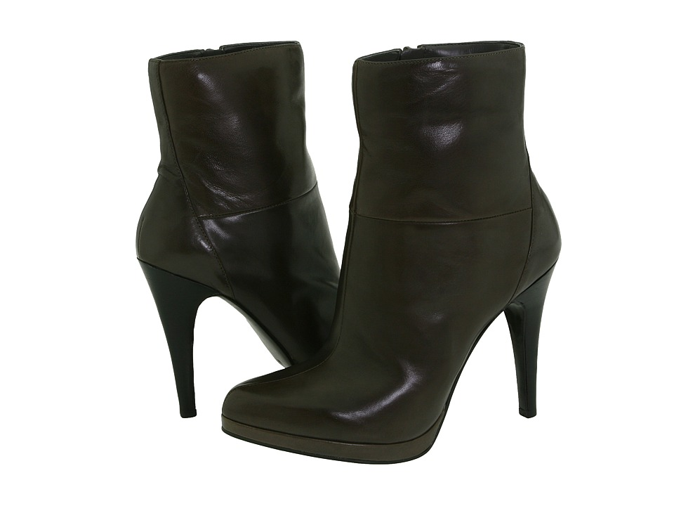 Nine West Randie (Dark Grey Leather) Women