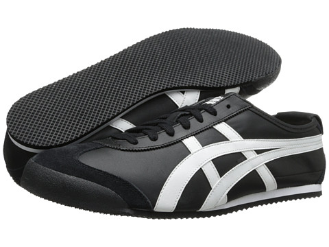 Onitsuka Tiger by Asics - Mexico 66 (Black/White) Shoes