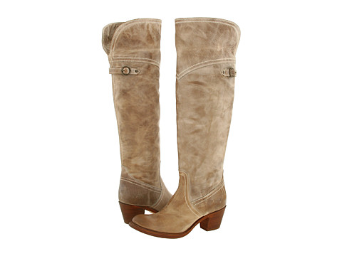 Frye - Jane Tall Cuff (Taupe) Women's Pull-on Boots