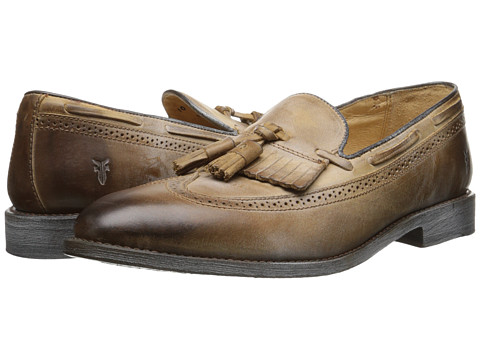 Frye - James Kiltie (Tan) Men's Shoes