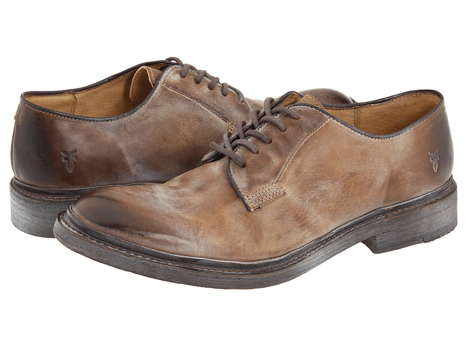Frye - James Oxford (Tan Antique Leather) Men