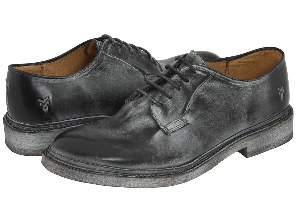 Frye James Oxford (Black Antique Leather) Men