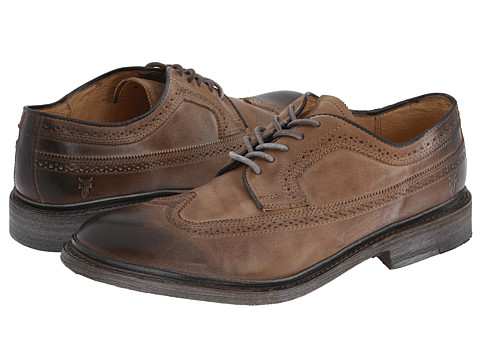 Frye - James Wingtip (Tan) Men