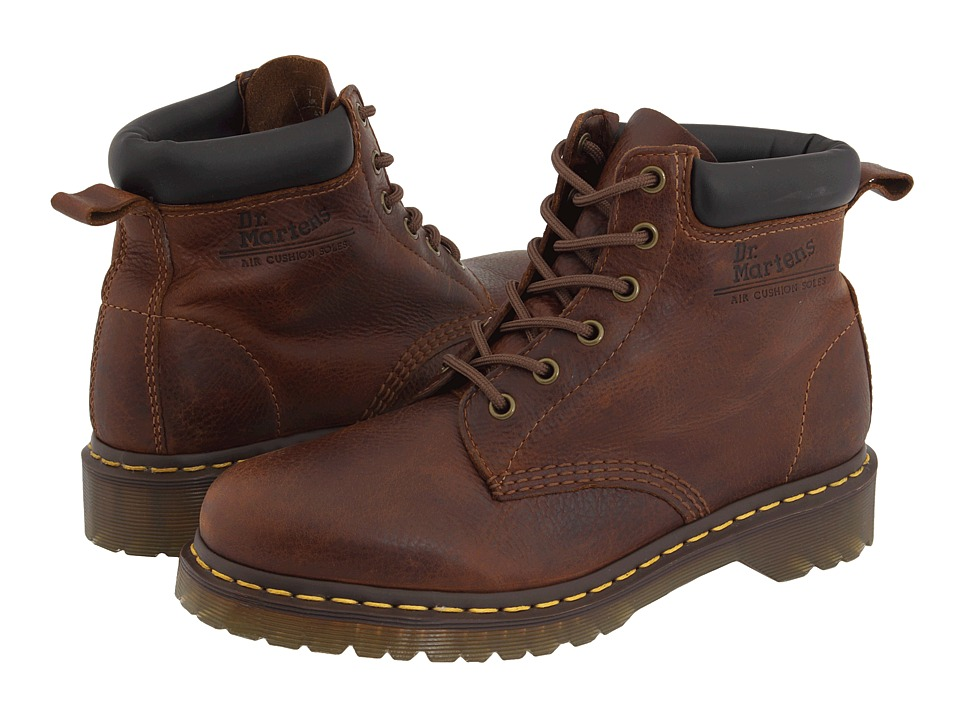 Dr. Martens - Saxon 939 6-Eyelet Padded Collar Boot (Tan Harvest) Men's Boots