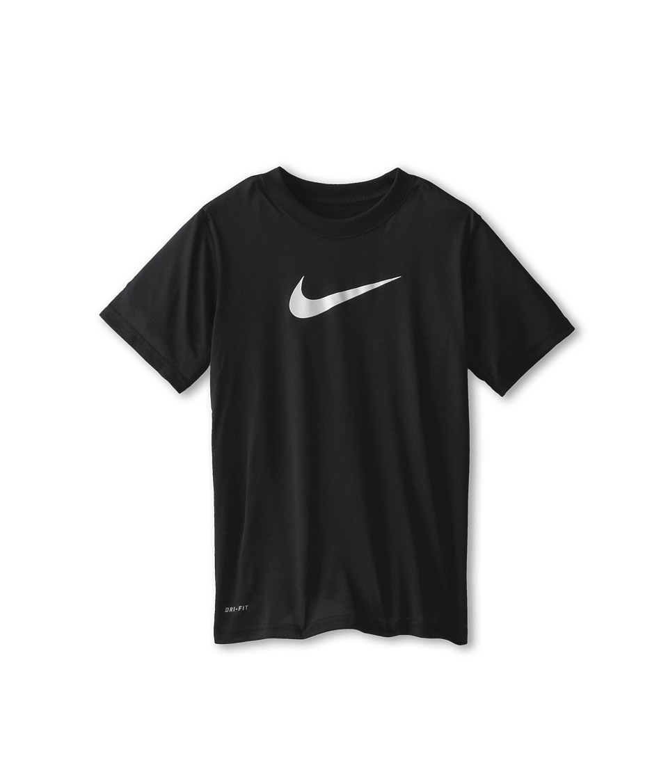 Nike Kids - Essentials Legend S/S Top (Little Kids/Big Kids) (Black) Boy's Workout