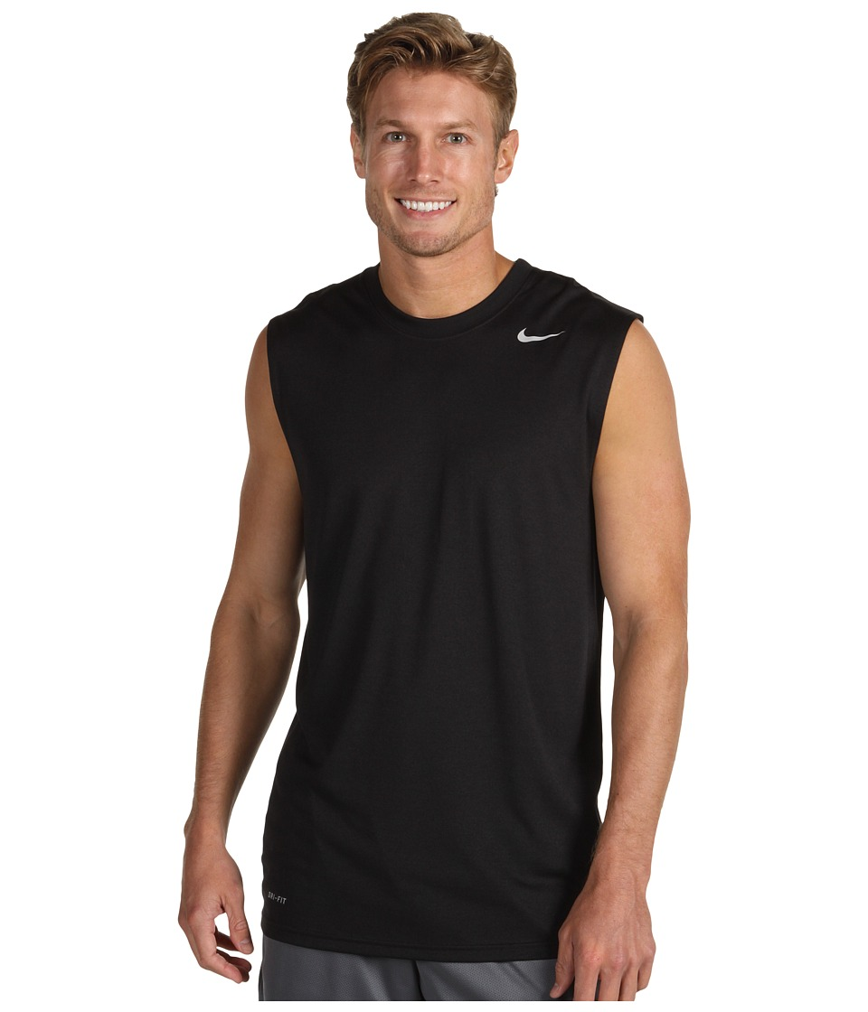 Nike - Dri-FIT Legend Sleeveless Training Shirt (Black) Men's Sleeveless