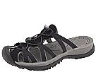 Keen Whisper Slide (Black/Gargoyle) Women's Sandals