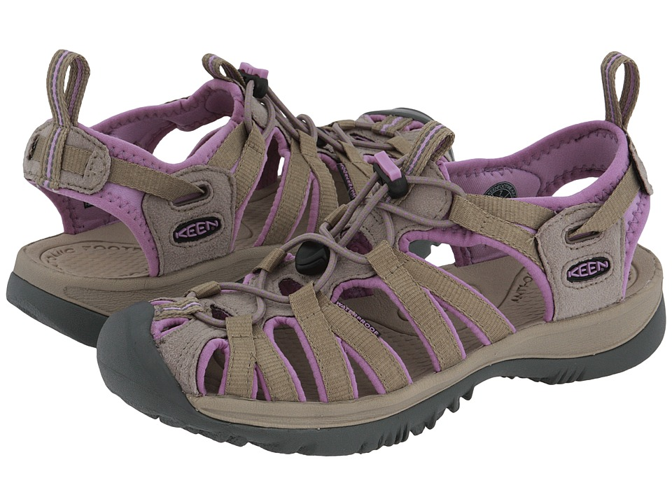 Keen - Whisper (Brindle/Regal Orchid) Women's Sandals