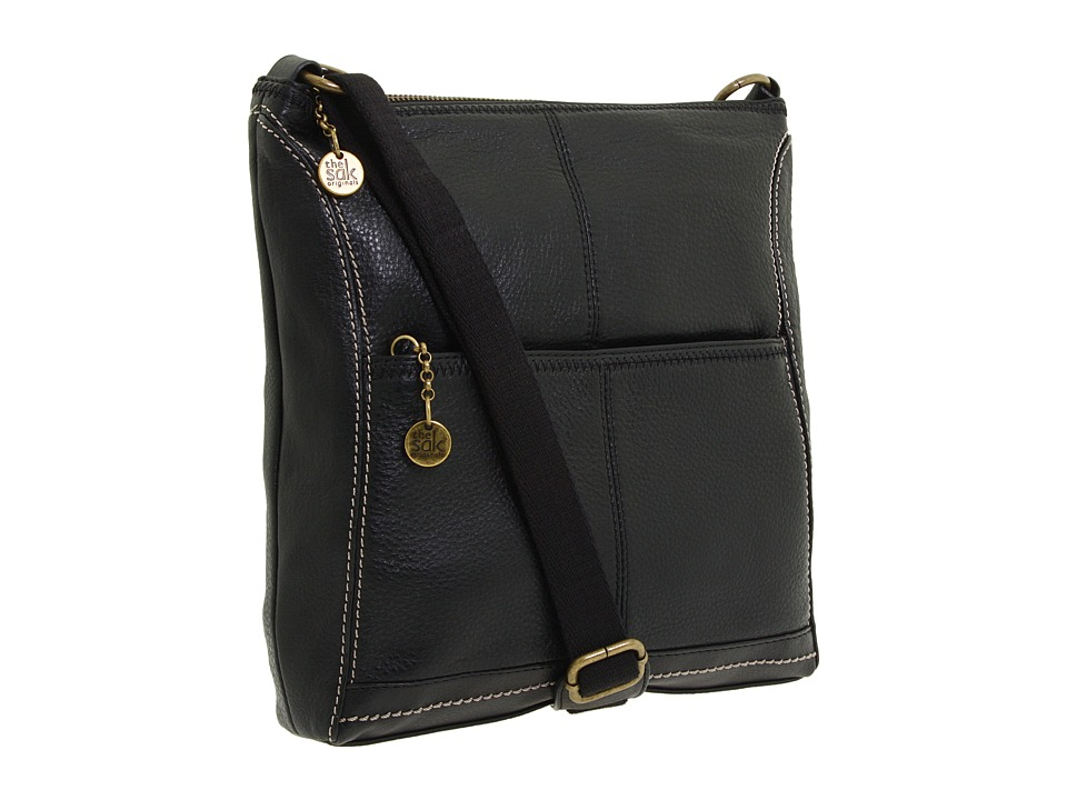 The Sak - Iris Crossbody (Black) Cross Body Handbags
