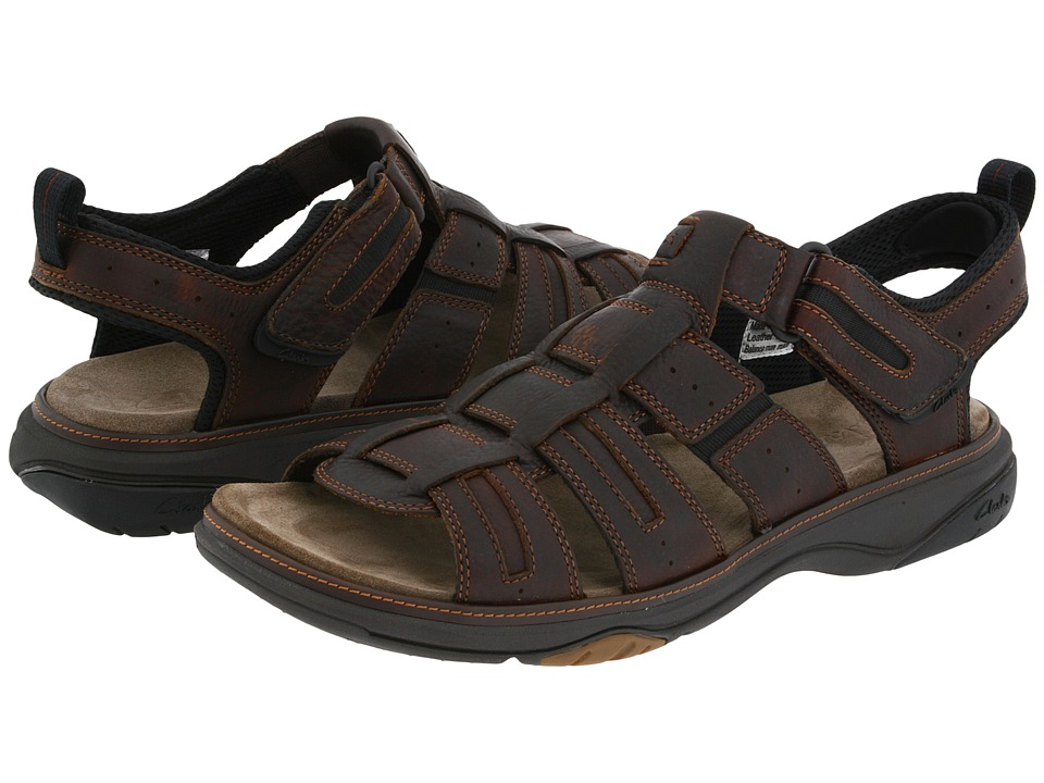 Clarks - Merrimack (Brown Oily Leather) Men