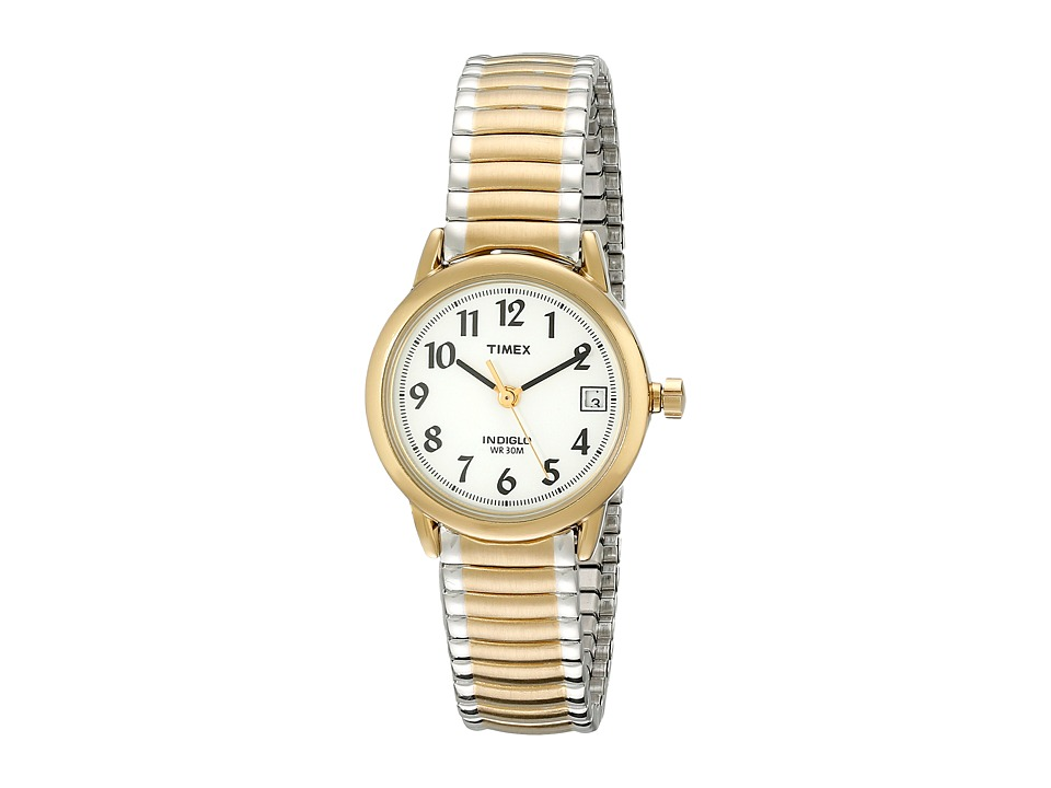 Timex - Core Easy Reader (Two Tone Band/White Dial) Watches