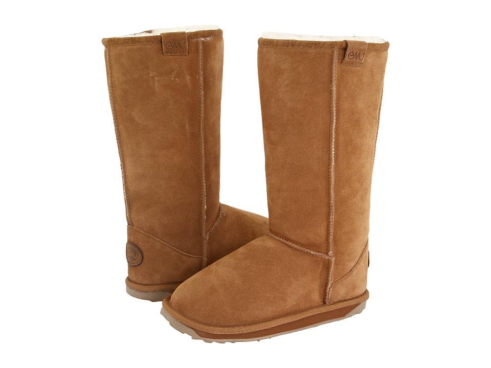 EMU Australia Kids - Wallaby Hi (Toddler/Little Kid) (Chestnut) Kids Shoes