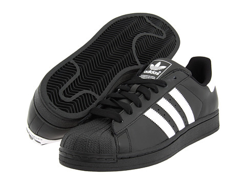 adidas Originals - Superstar 2 (Black/White) Classic Shoes