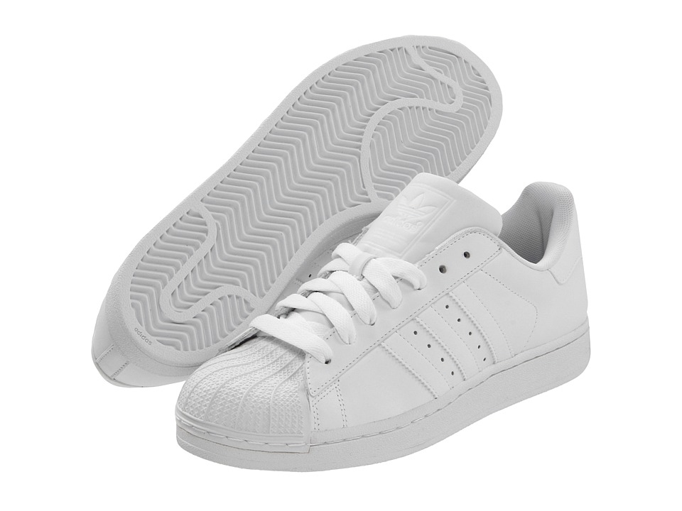 adidas Originals - Superstar 2 (White/White1) Classic Shoes