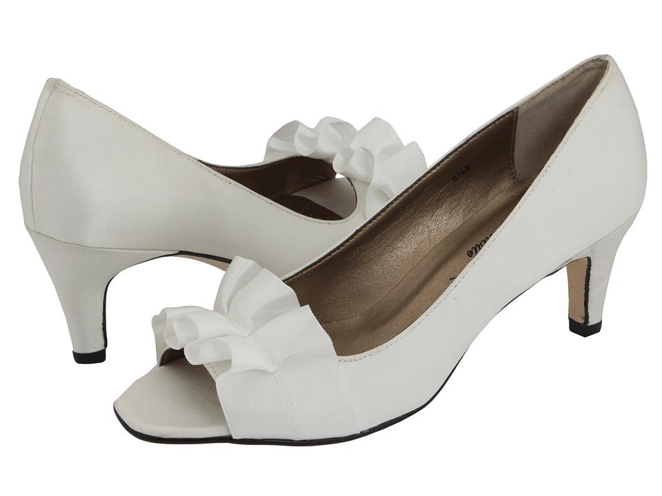 Vaneli - Madora (Ivory Satin - Zappos Exclusive) Women's Bridal Shoes