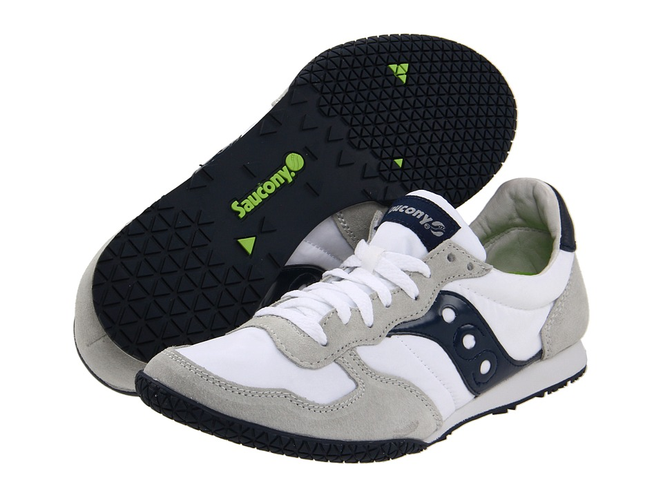 Saucony Originals - Bullet (White/Navy) Men's Classic Shoes