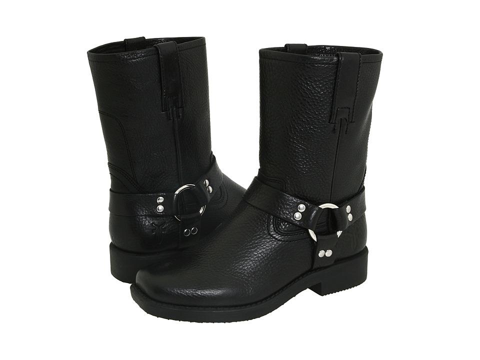 Frye Kids Harness Pull On (Toddler/Little Kid/Big Kid) (Black) Cowboy Boots