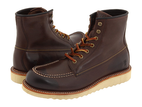 Frye - Dakota Wedge (Dark Brown Full Grain Leather) Men