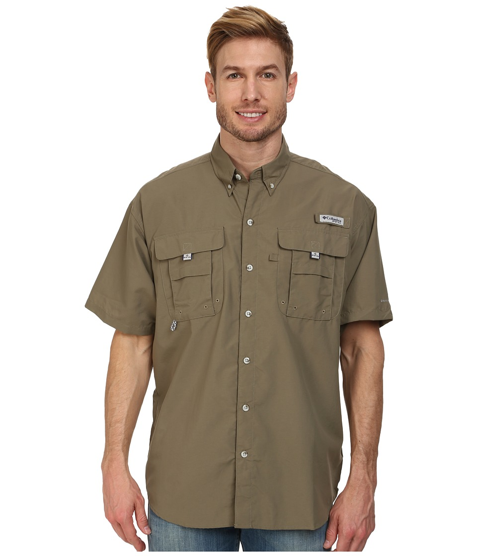 Columbia - Bahama II Short Sleeve Shirt (Sage) Men's Short Sleeve Button Up