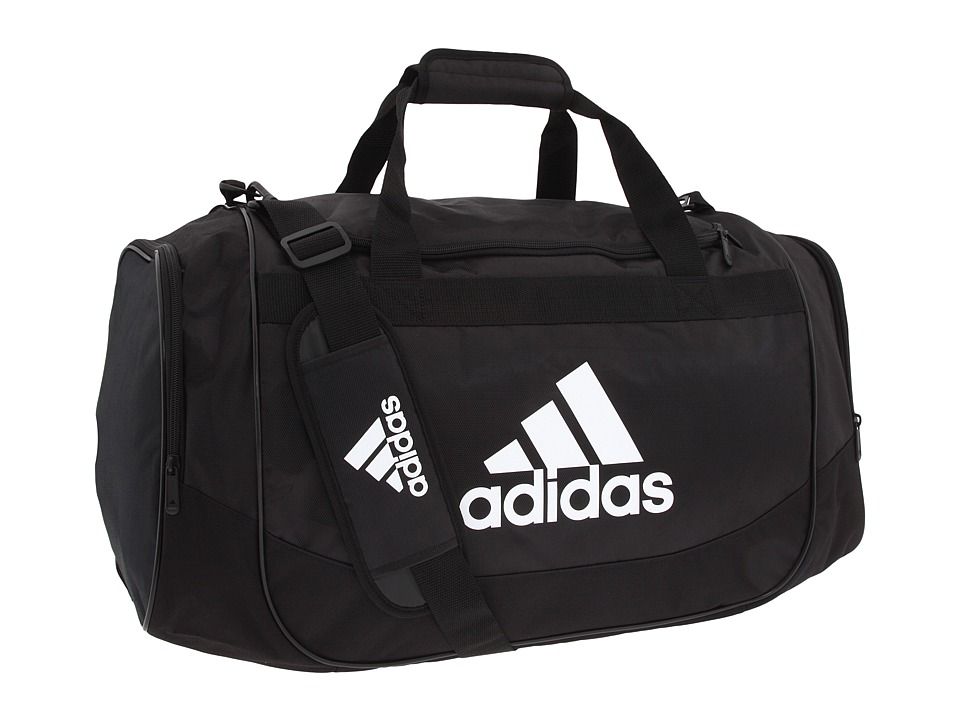 adidas - Defender Duffel Medium (Black) Duffel Bags