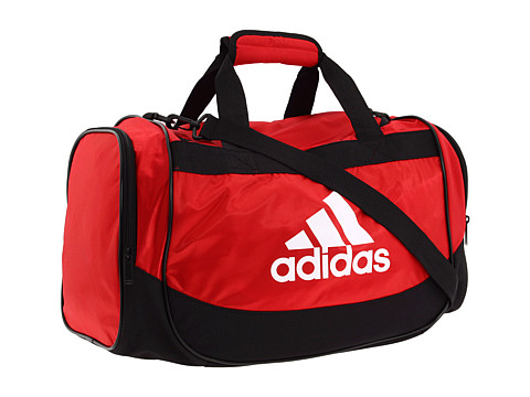 adidas - Defender Duffel Small (University Red/Black) Duffel Bags