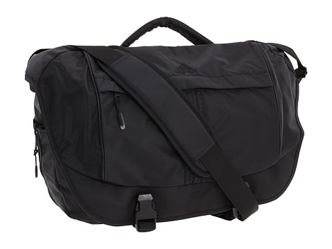 adidas - Tourney Messenger Bag (Black) Messenger Bags
