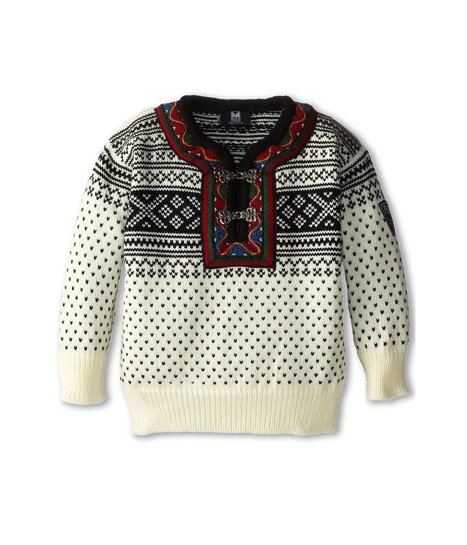 Dale of Norway - Setesdal Kids (Toddler/Little Kids/Big Kids) (Off-White/Black) Sweater