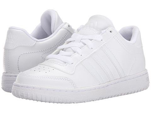 adidas Kids - Supercup Low (Little Kid/Big Kid) (Running White/Running White/Running White) Kids Shoes