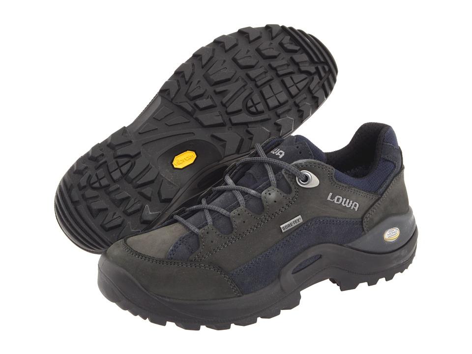 Lowa - Renegade II GTX(r) Lo WS (Dark Grey/Navy) Women's Hiking Boots