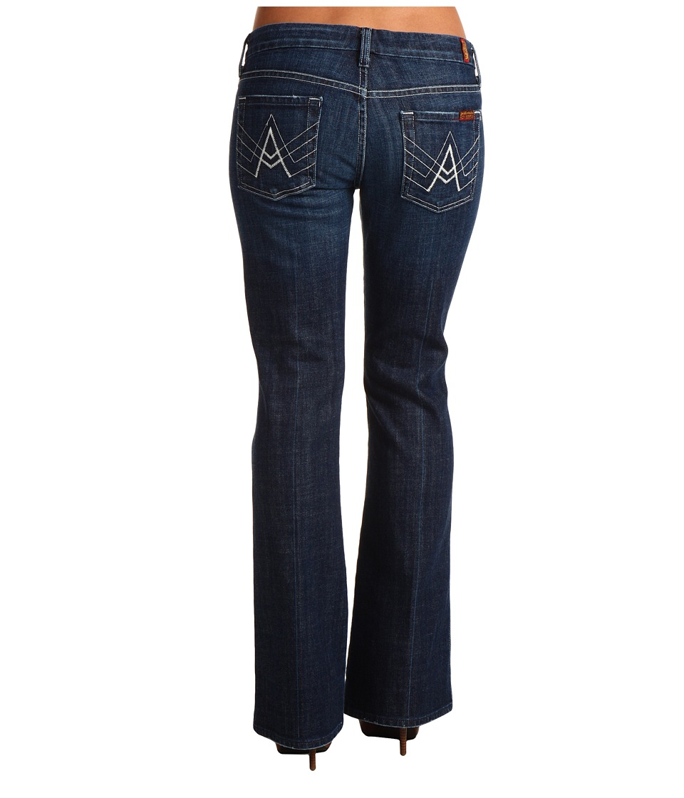 7 For All Mankind - A-Pocket Short in New York Dark (New York Dark) Women's Jeans