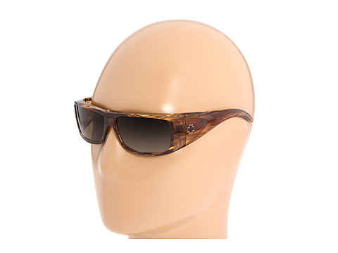 Spy Optic - Oasis (Brown Stripe Tortoise/Bronze Lens) Sport Sunglasses
