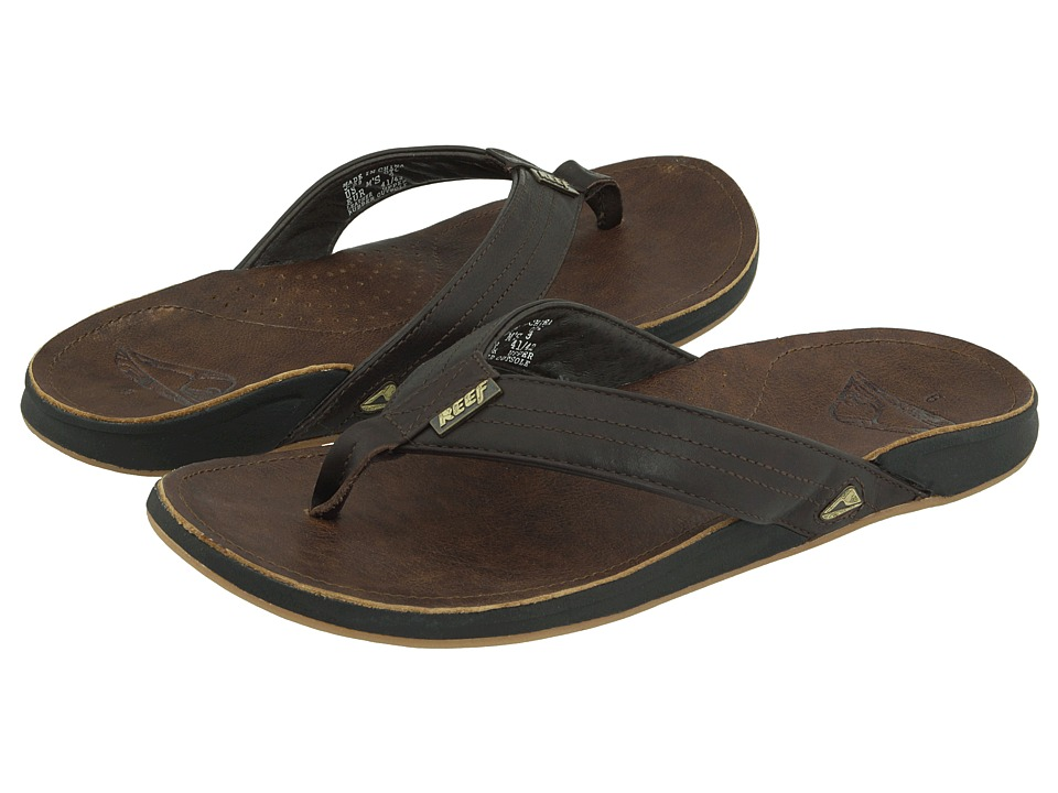 Reef - Reef J-Bay (Dark Brown) Men's Sandals