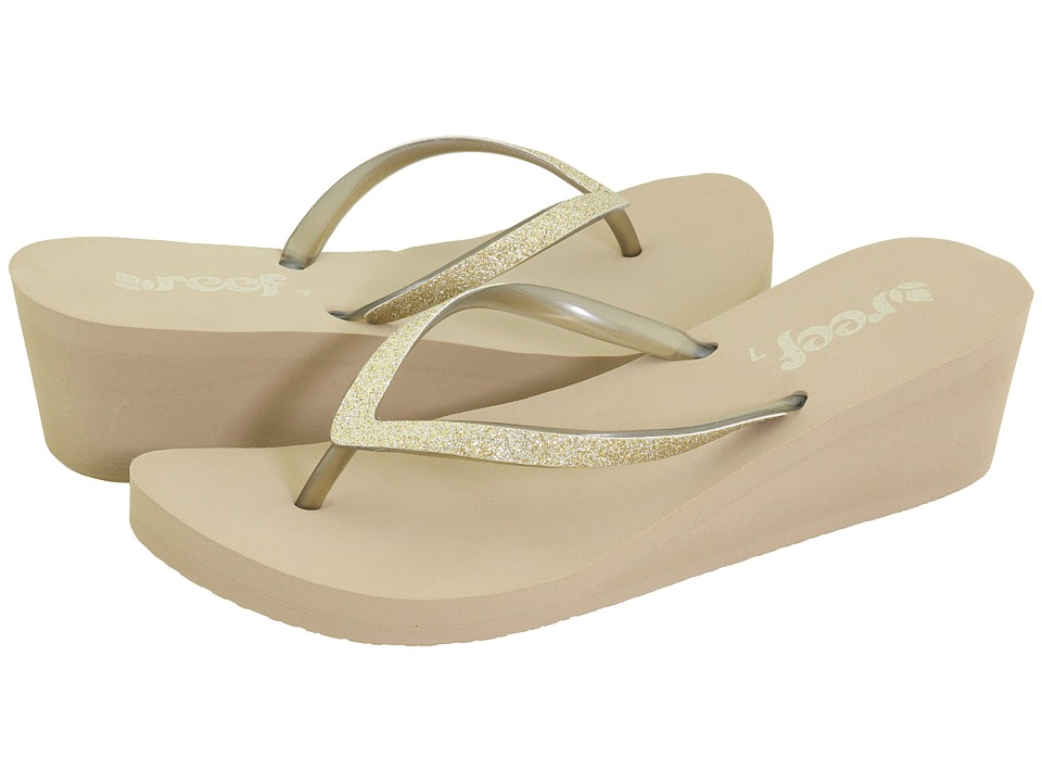 Reef - Krystal Star (Taupe/Champagne) Women's Sandals
