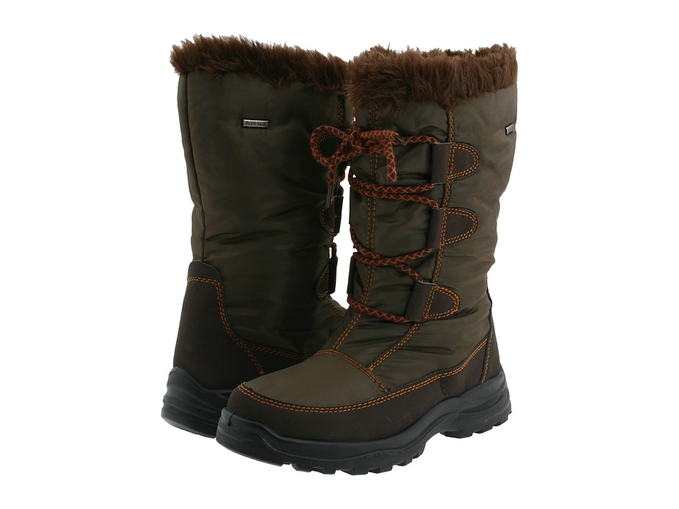 Spring Step - Zurich (Brown) Women's Lace-up Boots